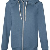 Authentic Originals Women's French Terry Hooded Full-Zip