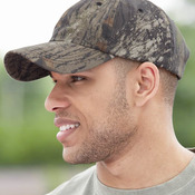 Garment-Washed Camo Cap