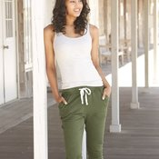 Women's Enzyme-Washed JV Capris